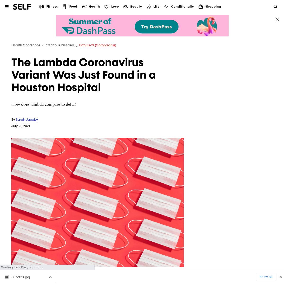 Lambda variant